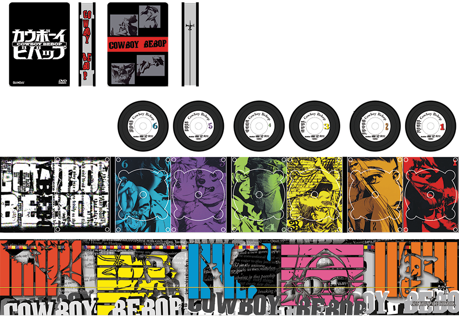 Cowboy Bebop Packaging Concept